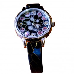 Security fashion quartz hand watch ladies man Japanese for sale