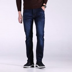 Summer thin jeans men's straight