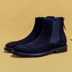 Men's Short Boots British Casual Men's Martin Boots Men's Shoes